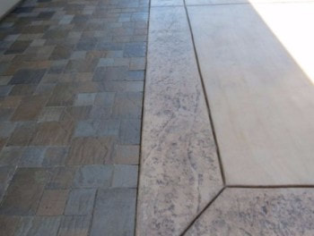 This is an image of modesto concrete driveway construction