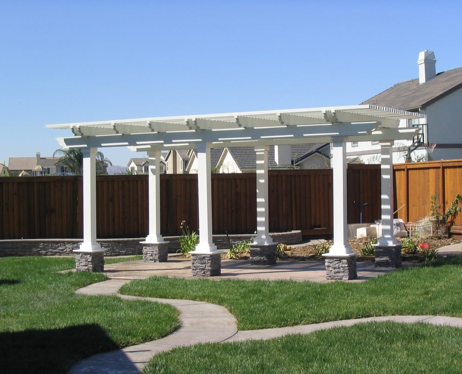 stamped concrete contractor in modesto california